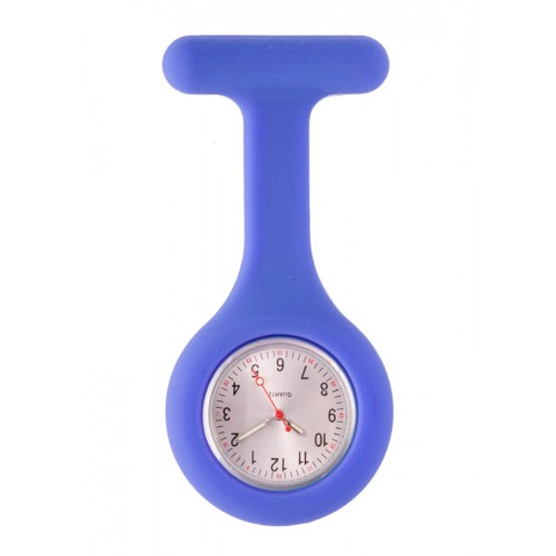 Silicone Nurses Fob Watch Standard Royal Blue