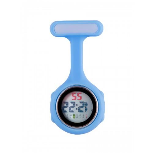 Digital Nurses Fob Watch Blue