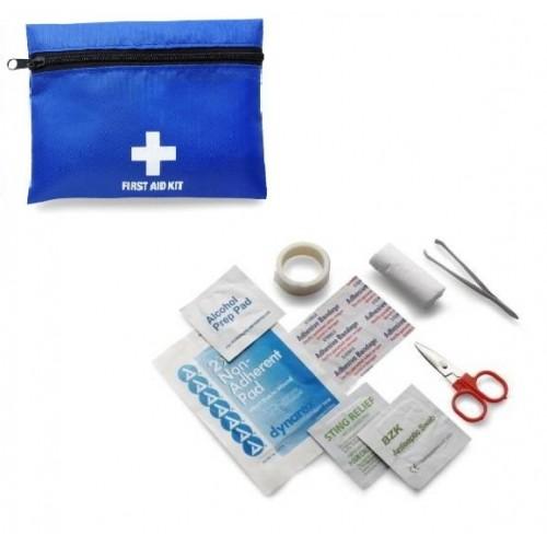 Mini First Aid Kit Blue