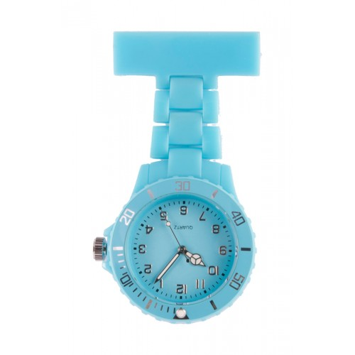 Neon Nurses Fob Watch Turquoise