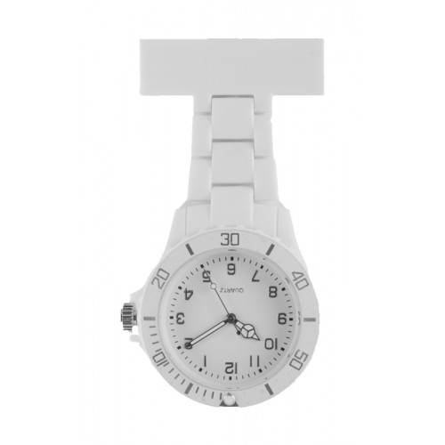 Neon Nurses Fob Watch White
