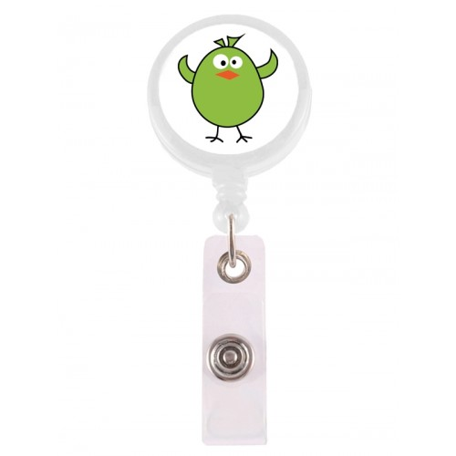Retracteze ID Holder Bird