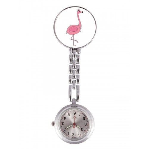 Fob Watch Flamingo