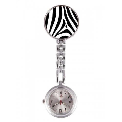 Fob Watch Zebra