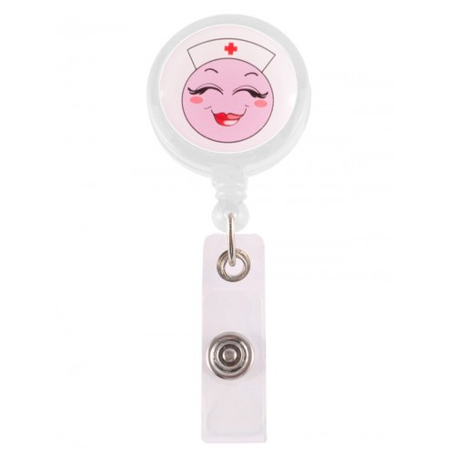 Retracteze ID Holder Happy Nurse
