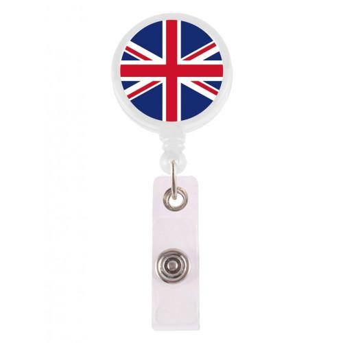 Retracteze ID Holder Union Jack