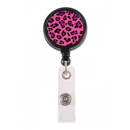 Retracteze ID Holder Panther Pink