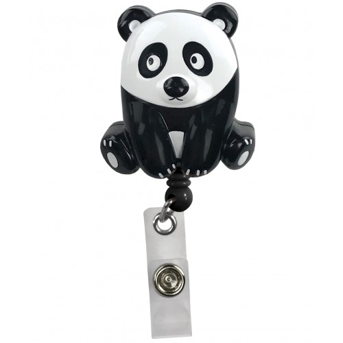 Deluxe Retracteze ID Holder Panda