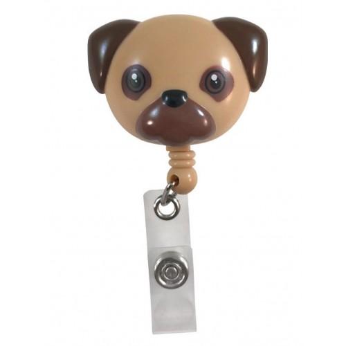 Deluxe Retracteze ID Holder Pug
