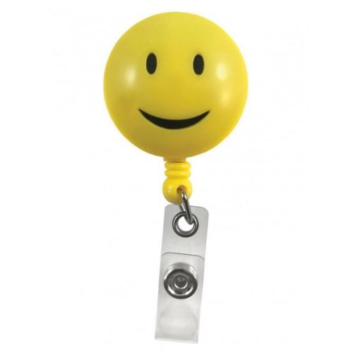 Deluxe Retracteze ID Holder Smile