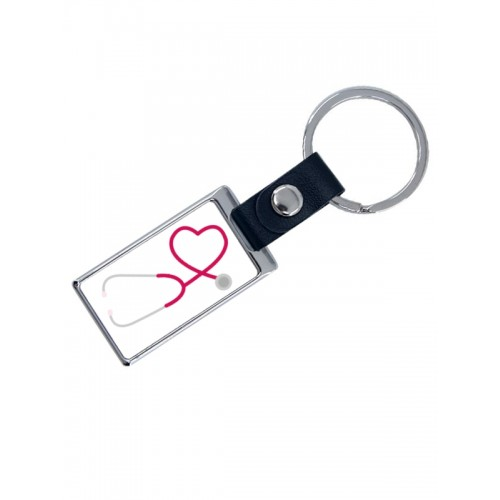 Luxe Key Chain Stethoscope with Name Print