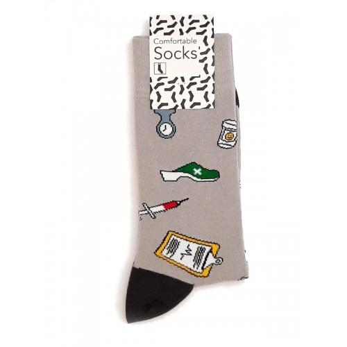Happy Mens Socks Instruments