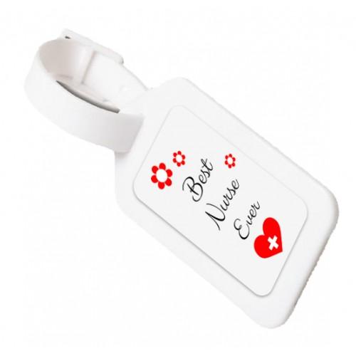 Luggage ID Tag Best Nurse