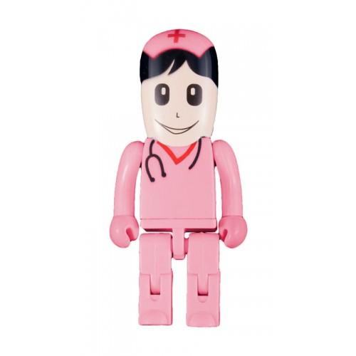 USB Flash Drive Memory Stick Nurse Pink
