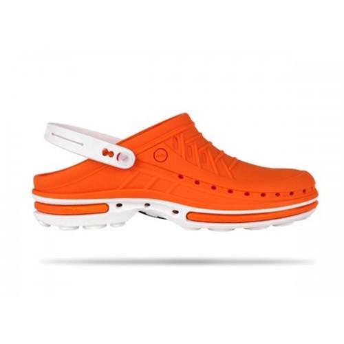 Wock Clog 05 White / Orange