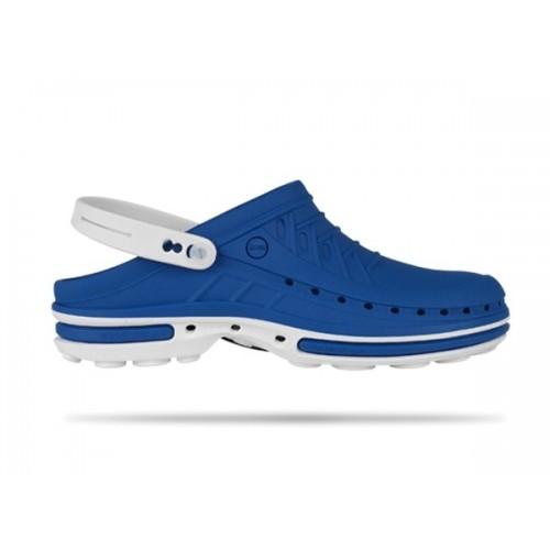 Wock Clog 07 White / Blue